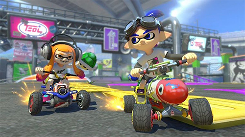Splatoon 2, another great 2017 multiplayer game, brings over some of its characters.