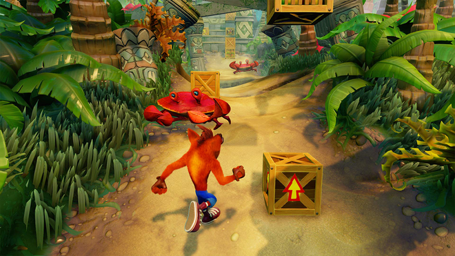 Crash may be a tough game but it's easy on the eyes.