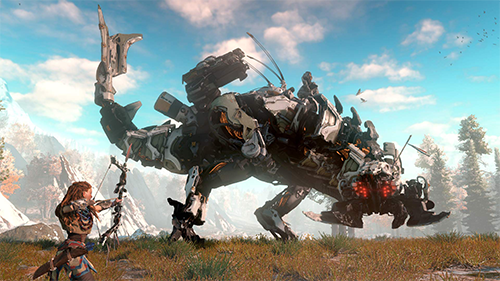 Horizon Zero Dawn was one of Kidzworld's highest reviewed games of the year.
