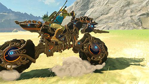 Link's new Master Cycle Zero.