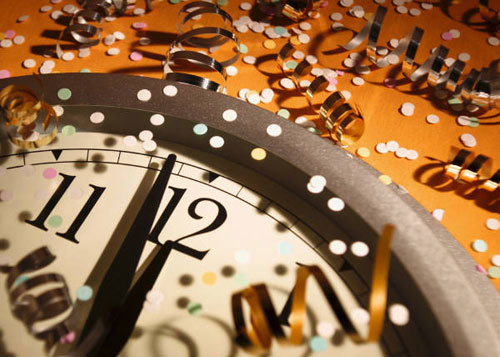 At midnight a brand new year begins!