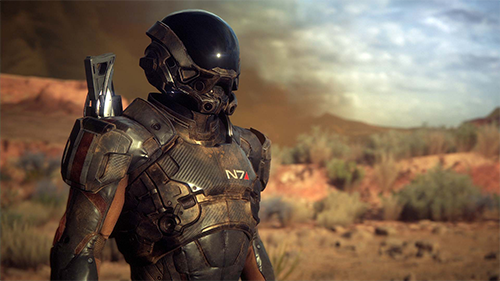 Mass Effect: Andromeda is looking gorgeous.