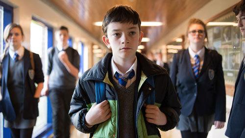 Conor at school