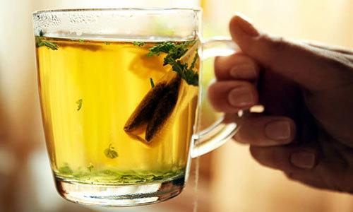 Green tea is full of antioxidants