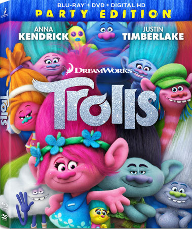 Trolls Party Edition Blu-ray