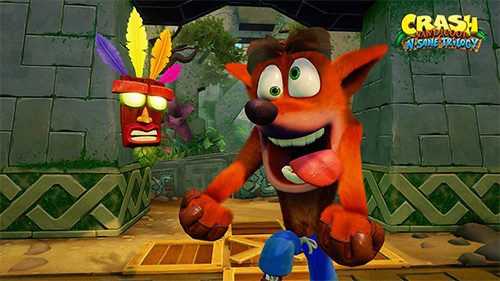 Crash and Aku-Aku return to PS4... and maybe more?