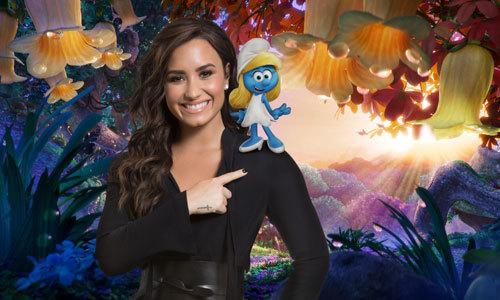 Demi Lovato voices Smurfette