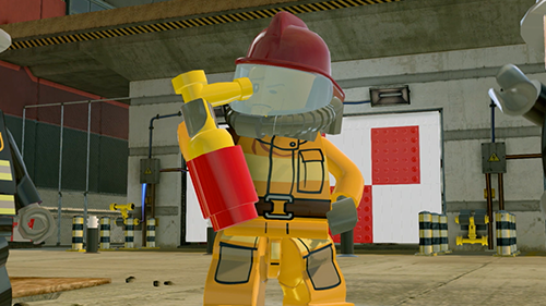 Chase McCain goes undercover as a fireman.