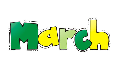 March Holidays!