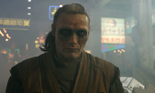 Kaecilius becomes more consumed by the Dark Dimension