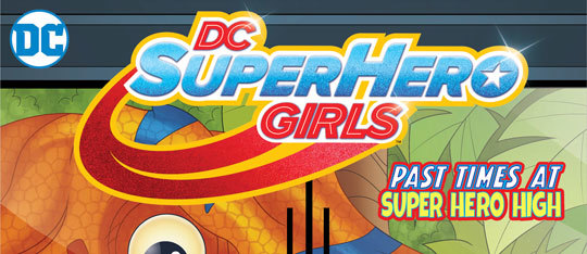 Feature dc superhero girls feat