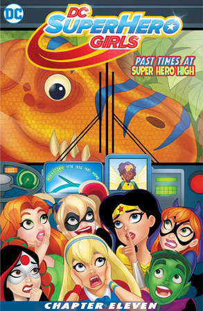 DC Superhero Girls Chapter 11 Cover