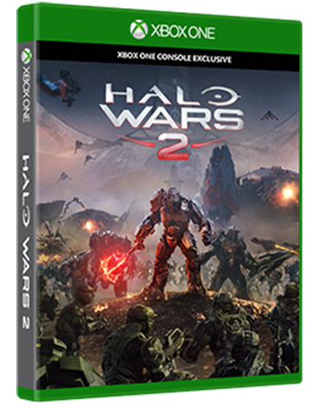 Halo Wars 2 Box Art