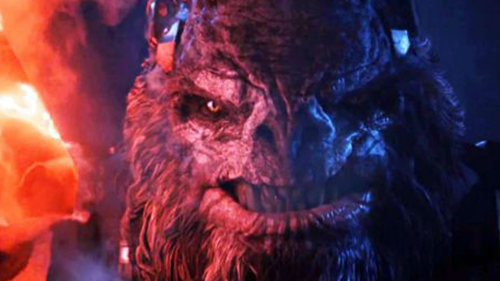 The banished Brute, Atriox, poses a real threat in Halo Wars 2.