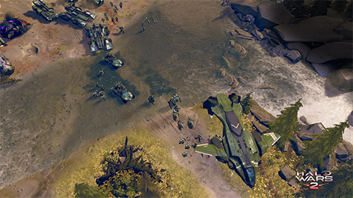 Seeing familiar Halo staples gives a sense of charm to Halo Wars 2.