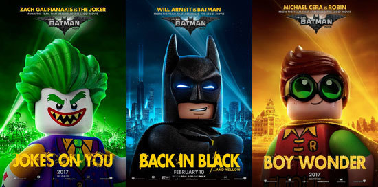 Joker, Batman and Robin Movie Posters