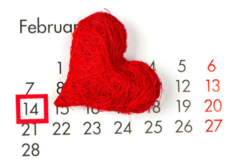 Valentine's falls on February 14th every year