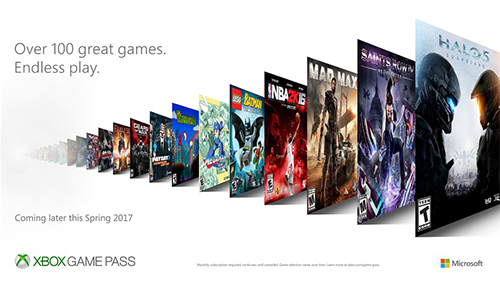 A sneak-peek at what's to come with Xbox Game Pass.