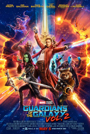Marvel Studios' Guardians of the Galaxy Vol. 2 New Poster!