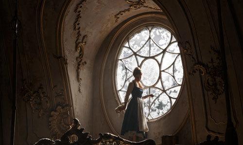 Sad Belle locked in her posh room