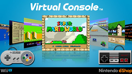 Nintendo's older games make the Virtual Console a massive selling point.