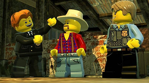 In addition to a ton vehicles, LEGO City Undercover has a wide swath of characters.