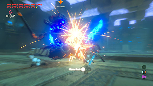 Breath of the Wild features the strongest focus on combat in series' history.