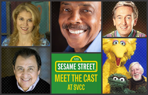 The Sesame Street cast joins SVCC 2017