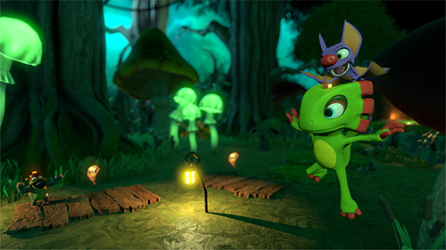 Yooka and Laylee are Banjo Kazooie in almost every way but name and appearance.