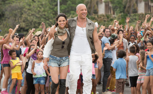 Letty and Dom are on their honeymoon