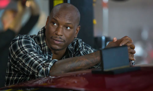 Tyrese Gibson is back as Roman