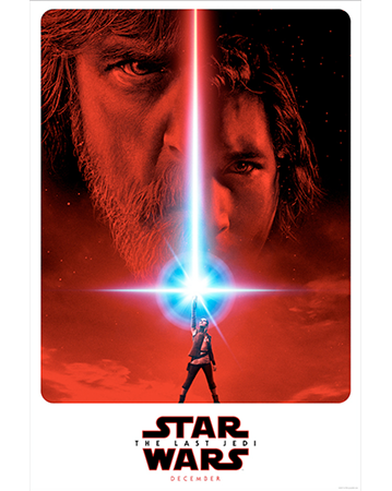 Star Wars: The Last Jedi's Official Poster