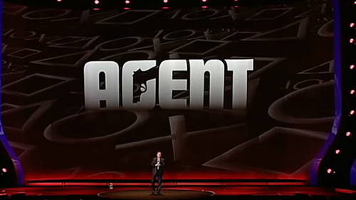Agent's doomed announcement at E3 2009.