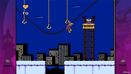 Darkwing Duck's lite Mega Man platforming is as unforgiving as ever.