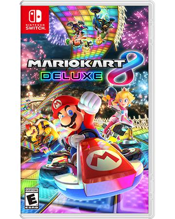 Mario Kart 8 Deluxe Box Art