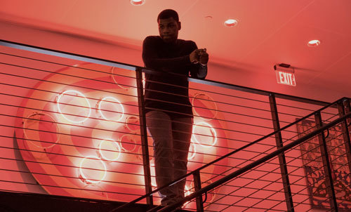 Ty (John Boyega) surveys the Circle offices