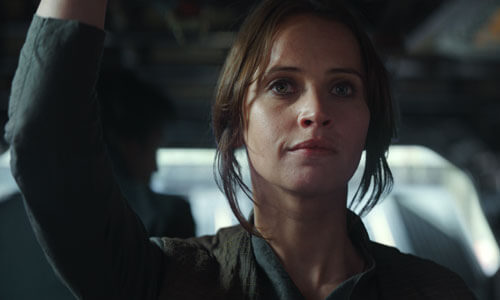 Jyn has hope for the rebellion