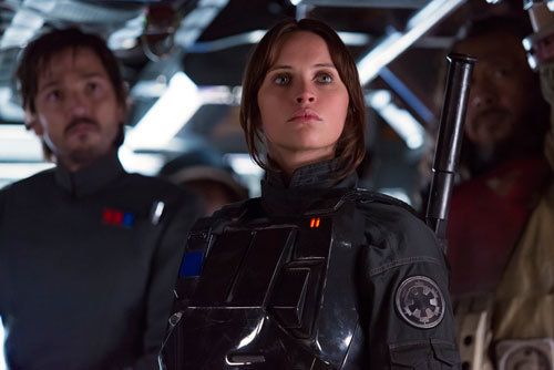 Jyn and Cassian undercover