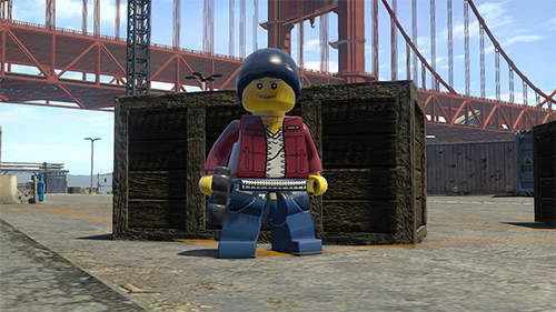 Chase's Undercover Police Disguise let's you see the other side of LEGO CITY.