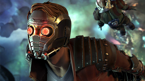 Like the movies, Star-Lord is the star of the show in the game.