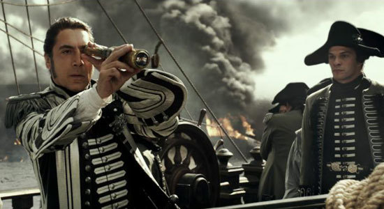 Captain Salazar before he tangled with Jack Sparrow