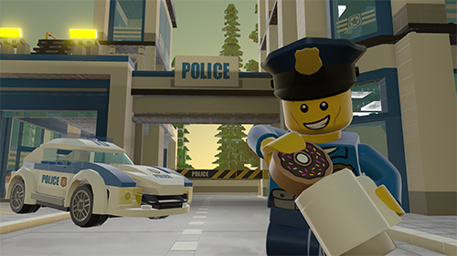 Similar to LEGO City Undercover, we've got a new theme added into LEGO Worlds.