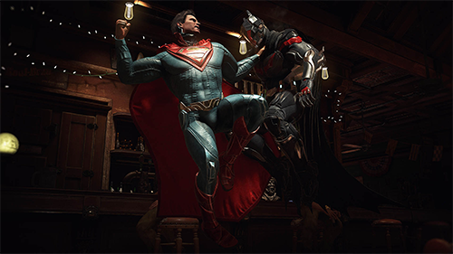 Another Batman v Superman showdown.