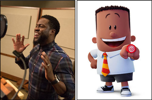 Kevin Hart and his character George