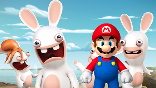 Mario and Rabbids, two franchises that probably won't mesh well.