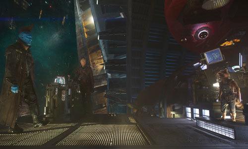 Yondu confronts Rocket