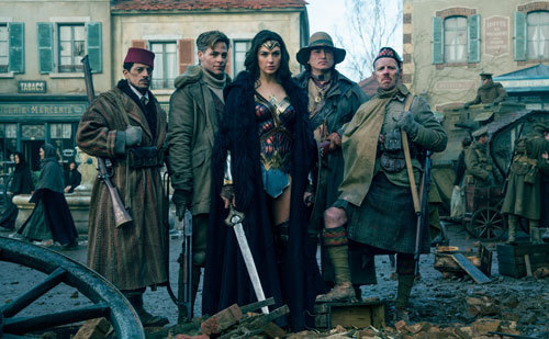 Wonder Woman joins Steve and his crew