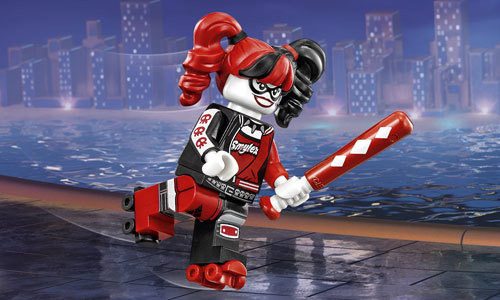 LEGO Harley Quinn does her thing