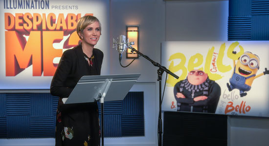Kristen Wiig records her Lucy character