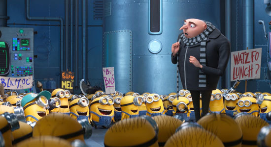 Feisty Minions hope Gru will be bad again